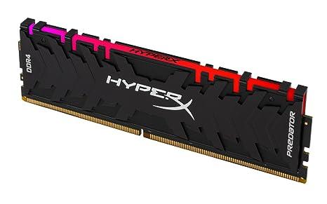 HyperX Predator HX429C15PB3A/8 - Memoria RAM (DDR4 8GB, 2933Mhz CL15 DIMM XMP RGB)