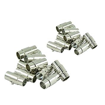 Bracelet Necklaces DIY Magnetic Clasps for Jewellery Ultnice Pack of 10