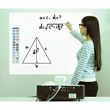 Amazon.com: ZANEBOW Portable Interactive Digital Whiteboard ...