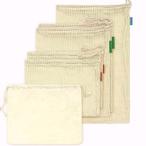 Bolsa de algodón reutilizable OneChois para frutas y ...
