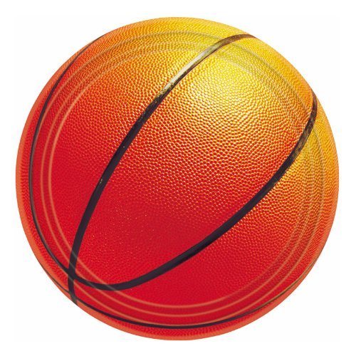 Amscan Basketball Paper Plates (8 Count) 7
