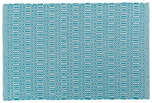 Now Designs Bazaar Kitchen Mat - Mats measure 24 by 36 Inch Hand-woven geometric design Made of 100% cotton - placemats, kitchen-dining-room-table-linens, kitchen-dining-room - 61eGUnbRKAL -