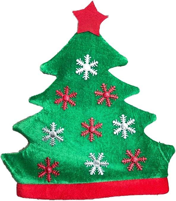 LEMON TREE SL Sombrero de Árbol de Navidad, Gorro de Navidad ...