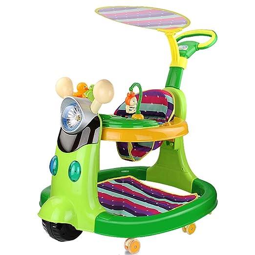 Andador de bebe Walker para niños 6/7-18 Meses antivuelco Push Can ...
