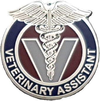 Veterinary Technician Lapel Pin Medical Vet Tech Pet Dog Cat Veterinarian  A 129