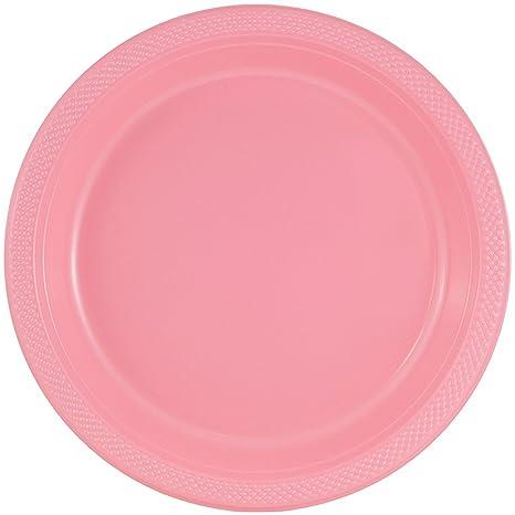 Amazon.com: Platos para fiesta de plástico redondos y ...