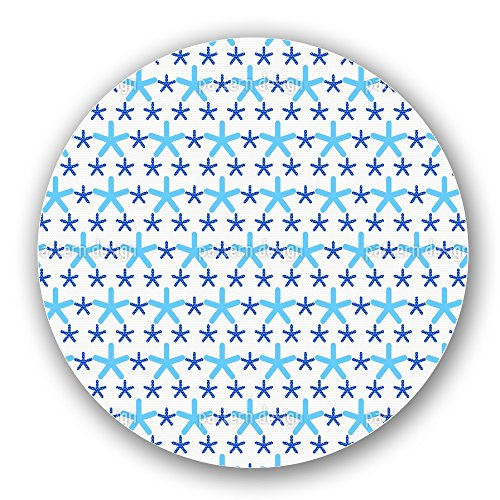 Uneekee Snowflakes Dance On Dots Lazy Susan: Medium, pure birch wooden Turntable Kitchen Storage by uneekee