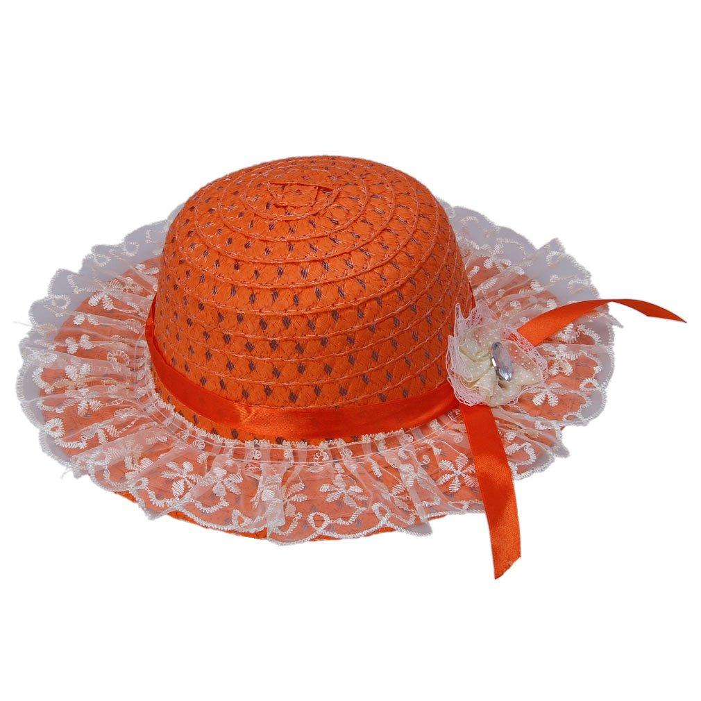 COMVIP HAT ガールズ S オレンジ B06Y2HWM11