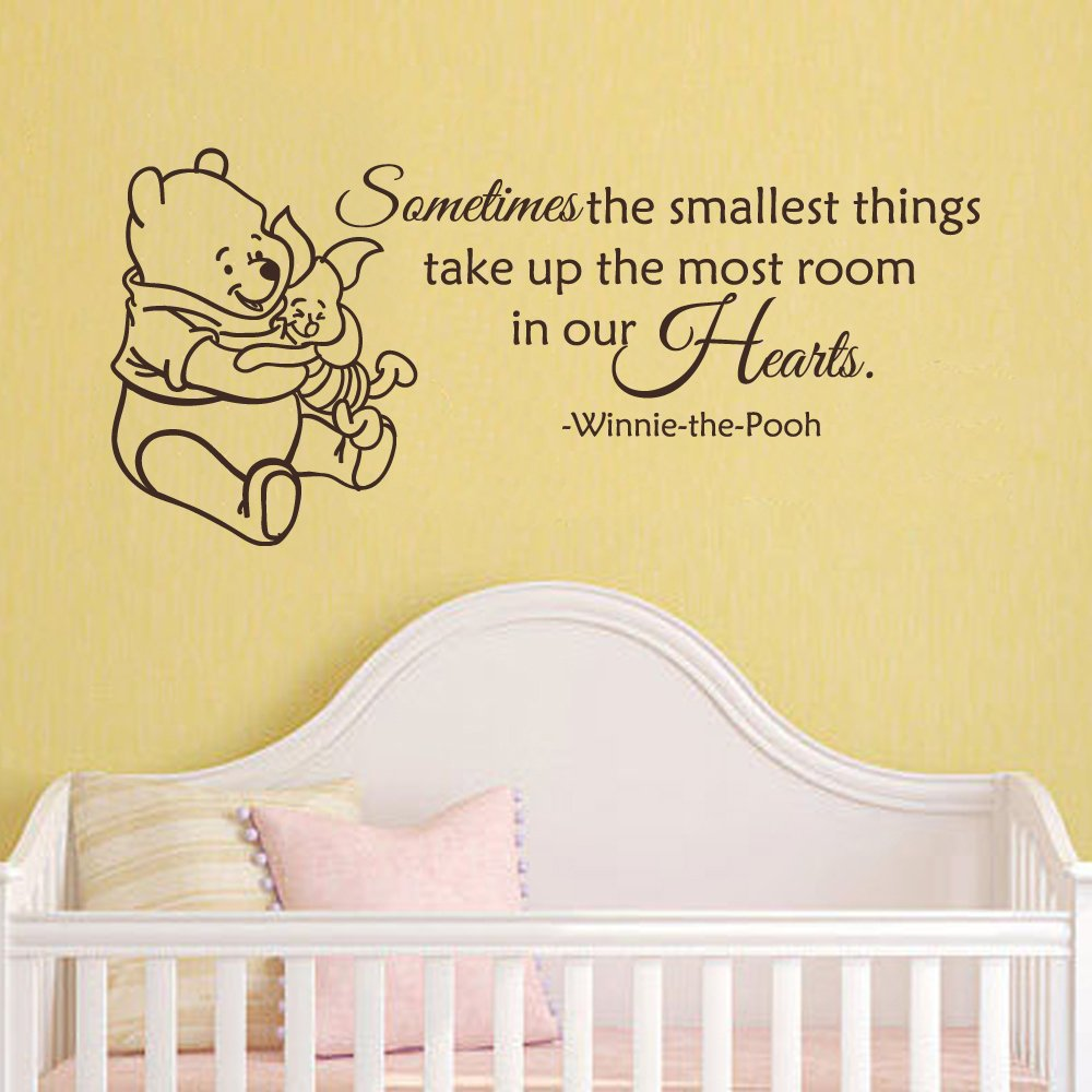 Classic Winnie the Pooh and Piglet - Sometimes the smallest thing ...