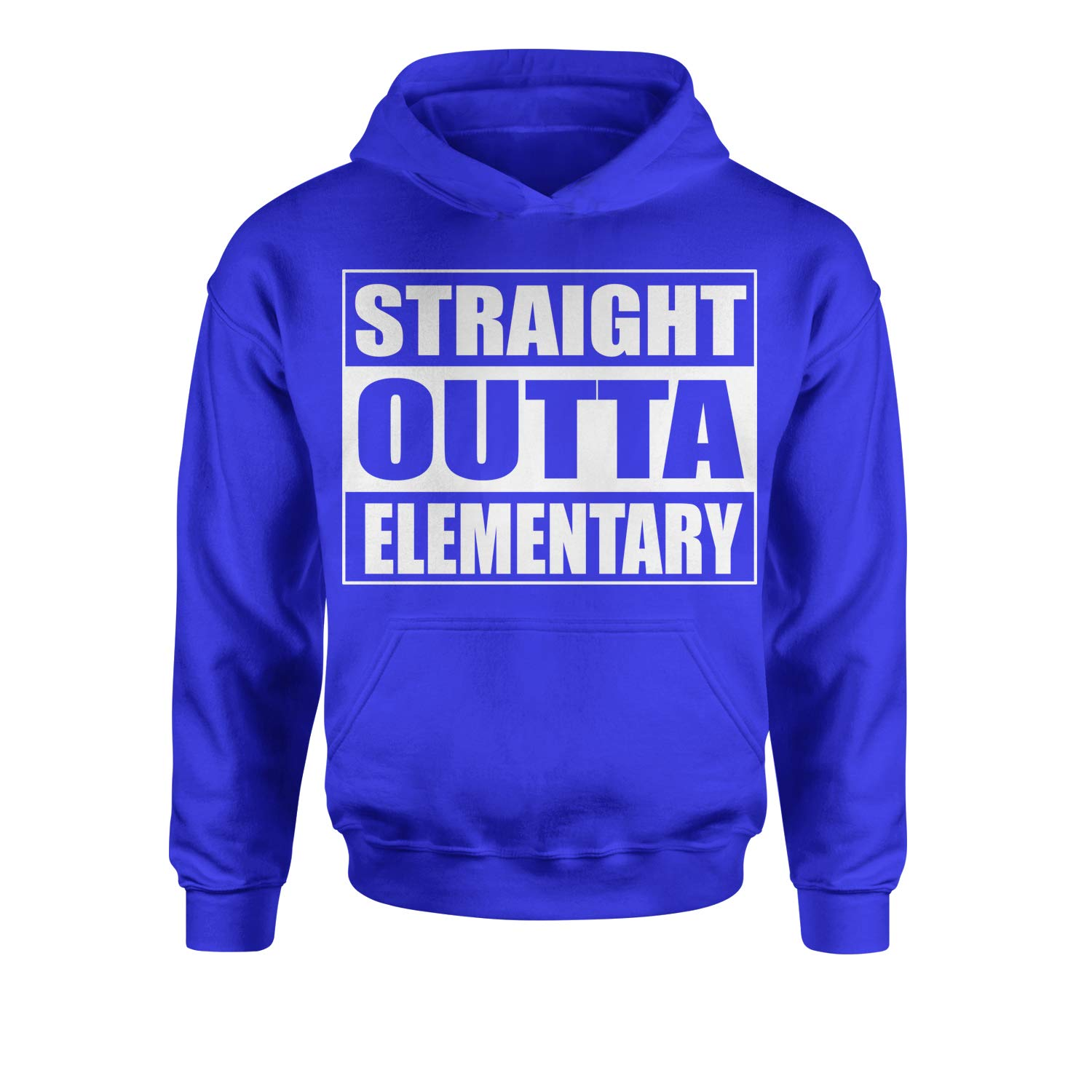 Expression Tees Straight Outta Elementary Youth-Sized Hoodie