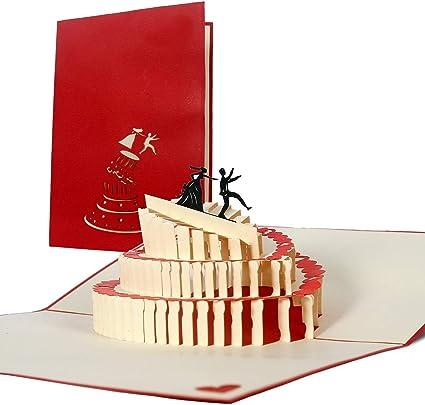 Partecipazioni Matrimonio 3d Fai Da Te.Partecipazioni Matrimonio 3d Divertenti Inviti Matrimonio