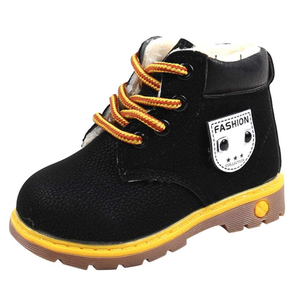 XUANOU Baby Children Warm Boys Girls Martin Sneaker Snow Boots Kids Baby Casual Shoes