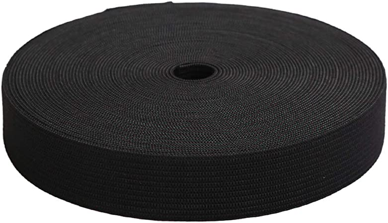 10m Elastique noir 3 CM de large