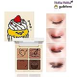 [Holika Holika] Lazy & Joy Gudetama Cupcake Eye Paltte Shadow 6g
