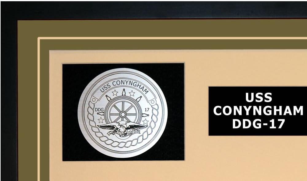 USS CONYNGHAM DDG 17 Street Sign us navy ship veteran sailor gift