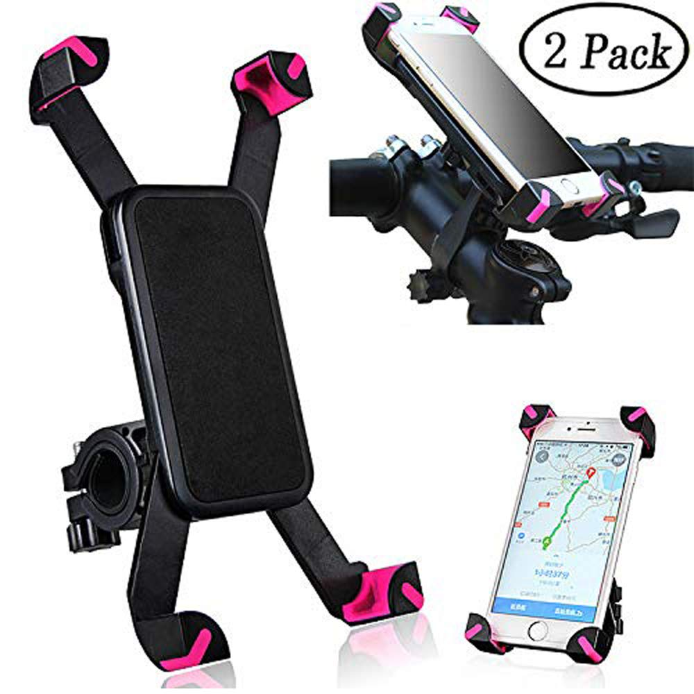 Bike Phone Holder, BESTZY Supporto telefono per bici del supporto universale per manubrio bicicletta rack Mount, ruotabile a 360 ° regolabile supporto ammortizzante Slittamento Universale per 3.5 '' a 6.5 '' iPhone Android Smartphone GPS, etc.