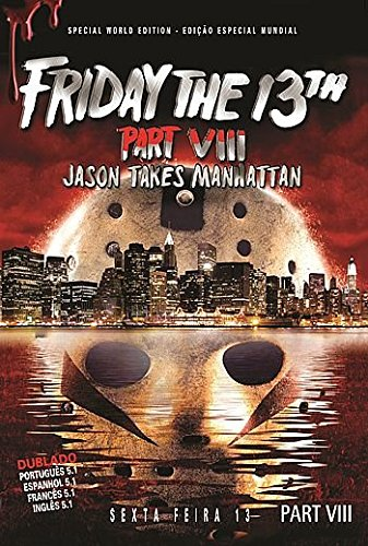 Friday the 13th Part VIII: Jason Takes Manhattan, Sexta-feira 13 Parte 8 - Jason Ataca Nova York, Vendredi 13, Chapitre 8: Jason à Manhattan, Vendredi 13, L'ultime Retour, Friday the 13th: Jason Takes Manhattan - Part 8, Venerdì 13: Parte VIII - Incubo a Manhattan, Friday the 13th Part 8: Jason in N.y., Viernes 13 Parte VIII: Jason Toma Manhattan, Sexta-feira 13 Parte VIII: Terror Em Manhattan, Freitag, Der 13. Teil 8: Todesfalle Manhattan / Dubbed / Region Free / Worldwide Special Edition