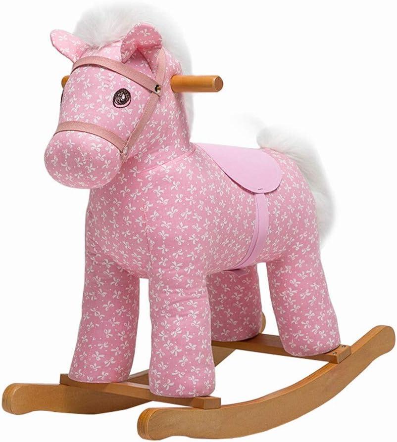 Los juguetes de montar Caballo de oscilación niño paseo en el juguete del niño del juego del eje de balancín silla por 1-3 Año de juguete viejo que se coloca Ride-On-paseo del caballo en caballo Regal