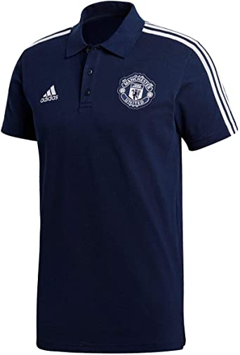 adidas Manchester United 3s Polo Camiseta, Hombre: Amazon.es ...