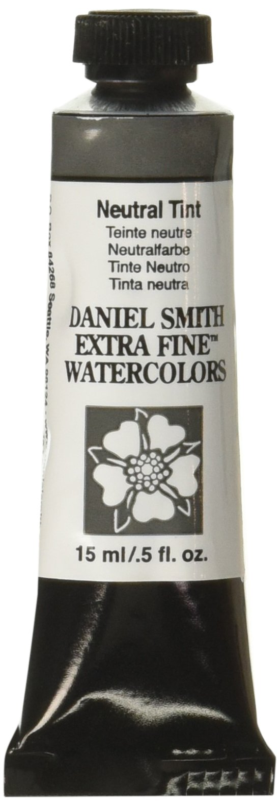 DANIEL SMITH 284600229 Extra Fine Watercolor 15ml Paint Tube, Neutral Tint, 15 ml
