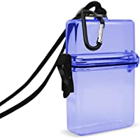 Gear Beast Waterproof Case, ID/Badge Holder Case, Perfect Dry Box for Sports & Outdoors (Small)