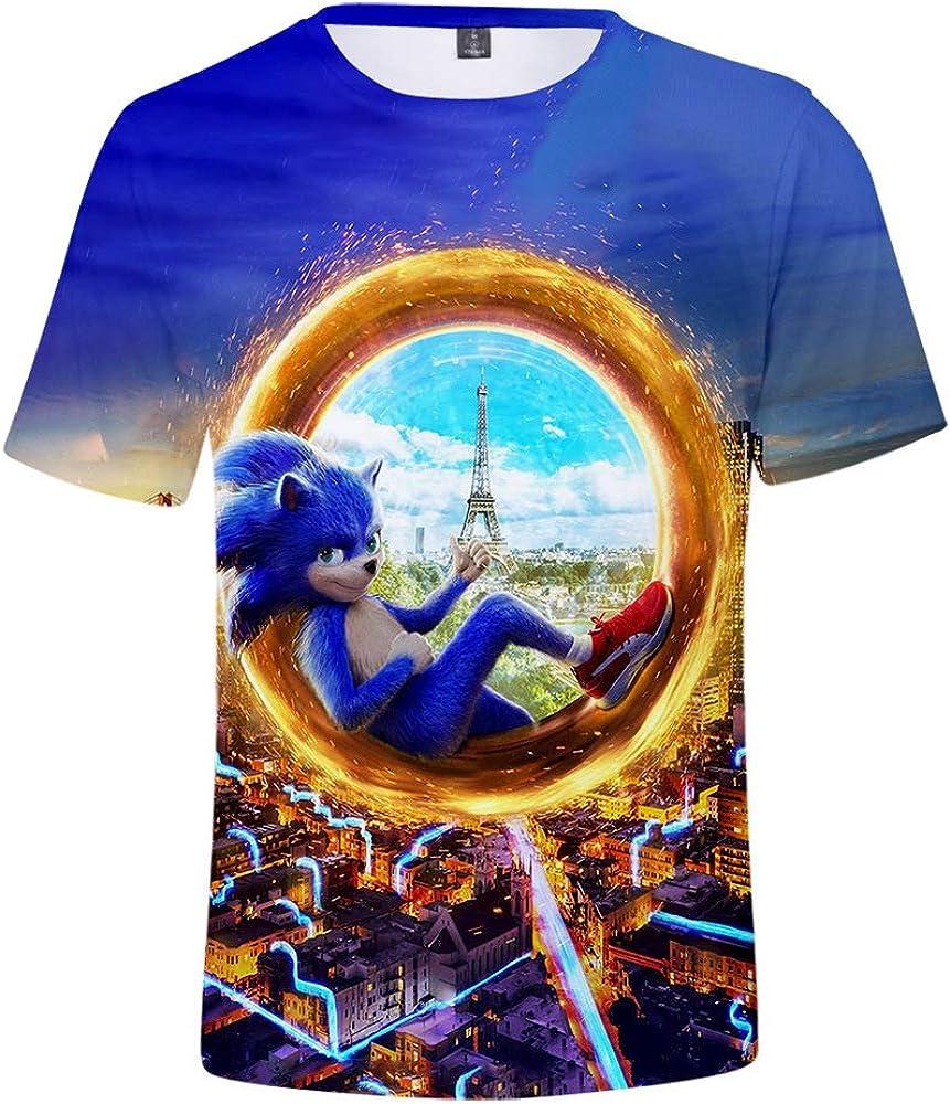 DUHUD Unisex 3D Graphic Print Tshirt