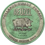 Reuzel Medium Shine Green Pomade, 12 oz