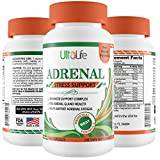 ADRENAL FATIGUE Making You Feel Tired, Run Down & in a Fog? Adrenal Support Supplement - Manage Cortisol Stress Hormones & Boost Energy - Natural Formula for Men & Women w Rhodiola Rosea, Holy Basil +