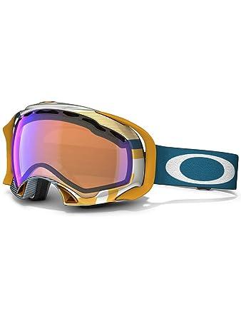 oakley photochromic ski goggles  Amazon.com : Oakley Splice 1975 Ski Goggles, Blue/Orange/Blue Irid ...