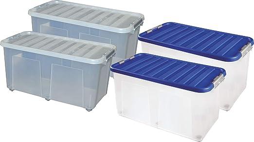 Sterling Ventures - Caja de Almacenamiento de plástico ...