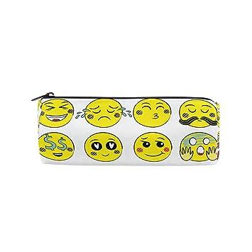 Montoj Emoji Face Emotions Kawaii - Estuche para cosméticos ...