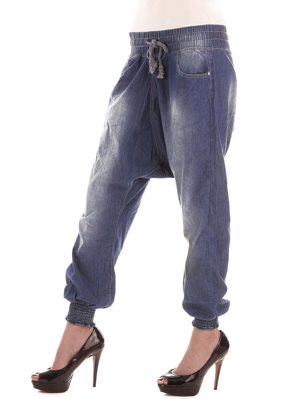 BALINGI Damen Pump Jeans BA10489, Größe:XXL;Farbe:blau