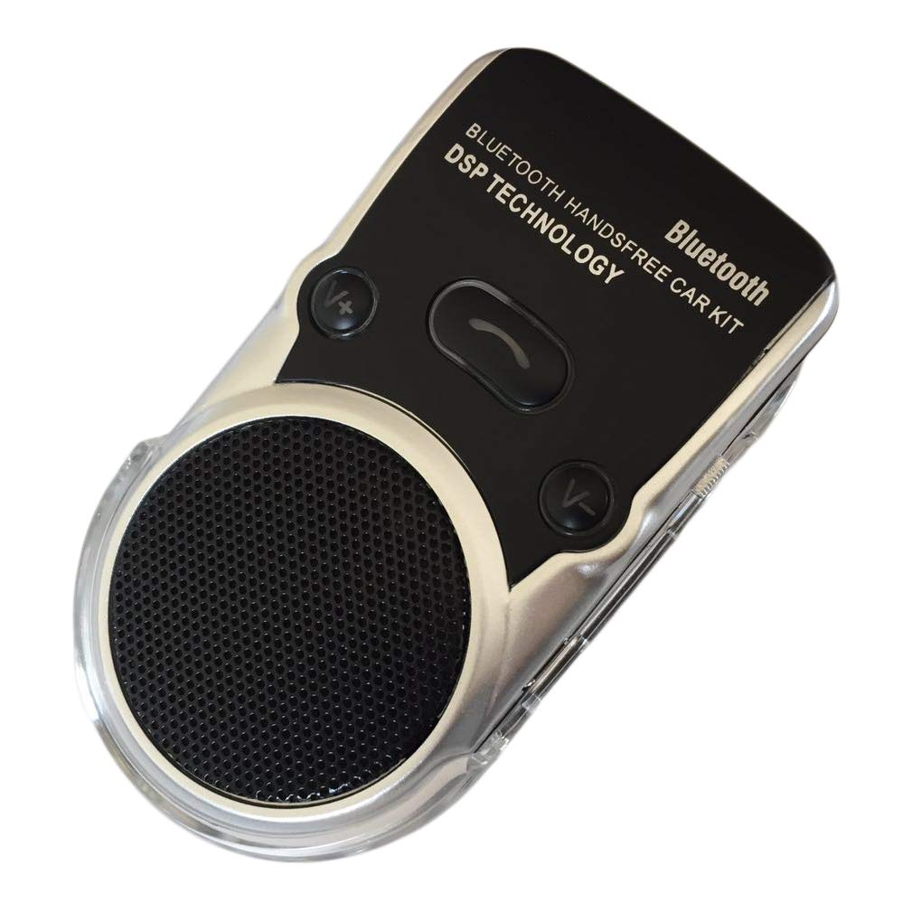 WiseBird Solar Bluetooth Hand-Free Car Phone Speaker & Music Streaming Audio Book GPS Sound Player Two Phones Connecting