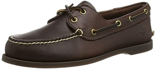 Timberland Brig - Mocasines, Marrón Oscuro, 49: Amazon.es: Zapatos y complementos