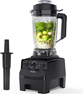 homgeek Blender Smoothie Blender, 1450W High Speed Professional Countertop Blender for Shakes and Smoothies 30000 RPM, Built-in Pulse& 10-speeds Control, 68 Oz Dishwasher Tritan Jar (Renewed)