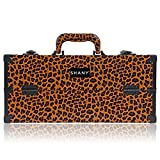 Best SHANY Cosmetics Quality Makeup Brushes - SHANY Modern Slim Train Case Makeup Organizer Review