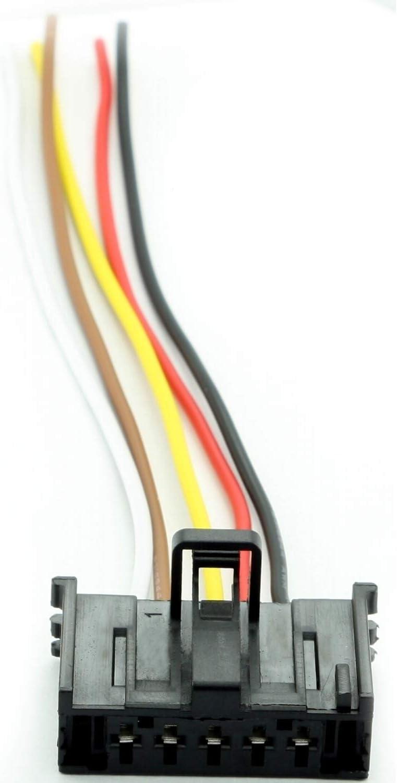 Overdrive Racing Reparatursatz Rep Kit Kabelbaum Stecker Widerstand Heizgebläse Regler Lüftung Heizung Klima Auto