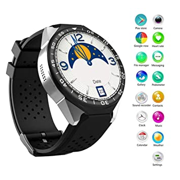 Gorgebuy Black Friday Special New ~ S99C Insertion de la Carte dassistance 3G Smartwatch