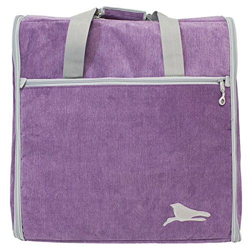 BlueFig DSEMB23 Embroidery Arm Travel Bag In Songbird Purple (Foam Insert for Brother 600) by Bluefig