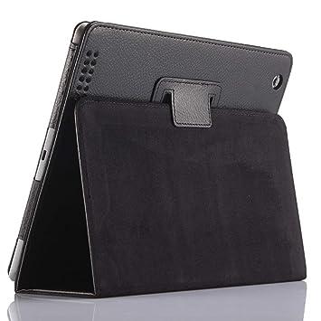Funda para iPad 2/3/4, FANSONG Carcasa Protectora de Cuero sintético con Soporte, función de Sueño/Estela automático para iPad 2, iPad 3, iPad ...