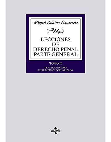 Lecciones de Derecho Penal Parte general: Tomo II (Derecho - Biblioteca Universitaria De Editorial