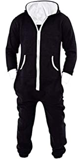 b02421e0aaad SKYLINEWEARS Men s Unisex Onesie Jumpsuit One Piece Non Footed Pajama  Playsuit