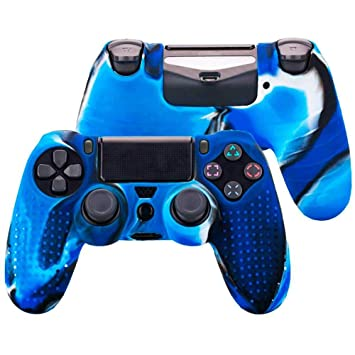 Funda de Silicona Carcasa para Mando Sony PS4 PlayStation 4 ...