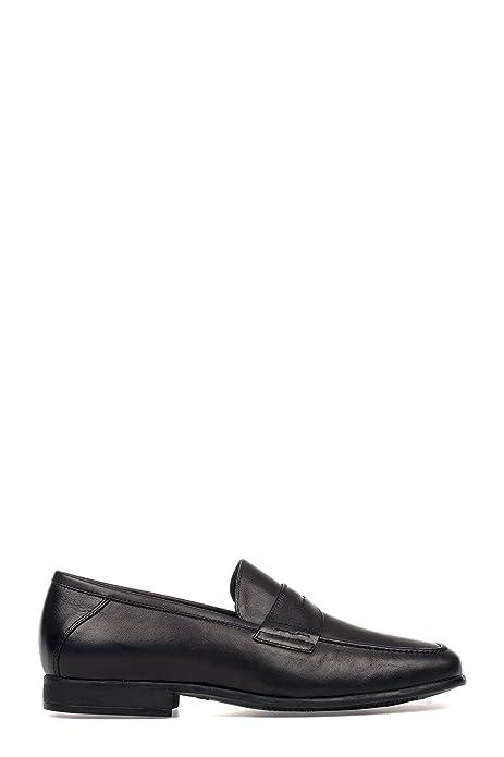 Trotters - Mocasines para Hombre Negro Negro IT - Marke Größe, Color Negro, Talla 44 IT - Marke Größe 44: Amazon.es: Zapatos y complementos
