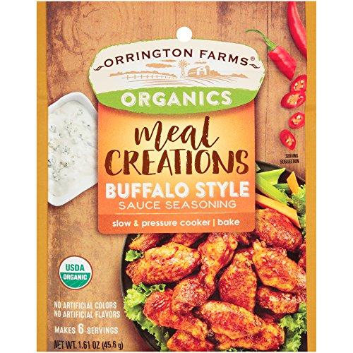 Orrington Farms Organic Meal Creations Seasoning, Buffalo Style Sauce (6 Count)