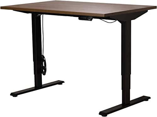Best home office desk: Electric Sit Stand Desk Dual Motor 3 Stage Height Adjustable Table