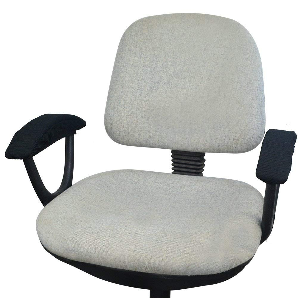 Y8HM Office Computer Chair Arm Covers Washable Chair Armrest Pad Covers 1 Pair of Polyester Fabric Stretchy Desk Chair//Rotating Chair Arm Rest Cover Protector