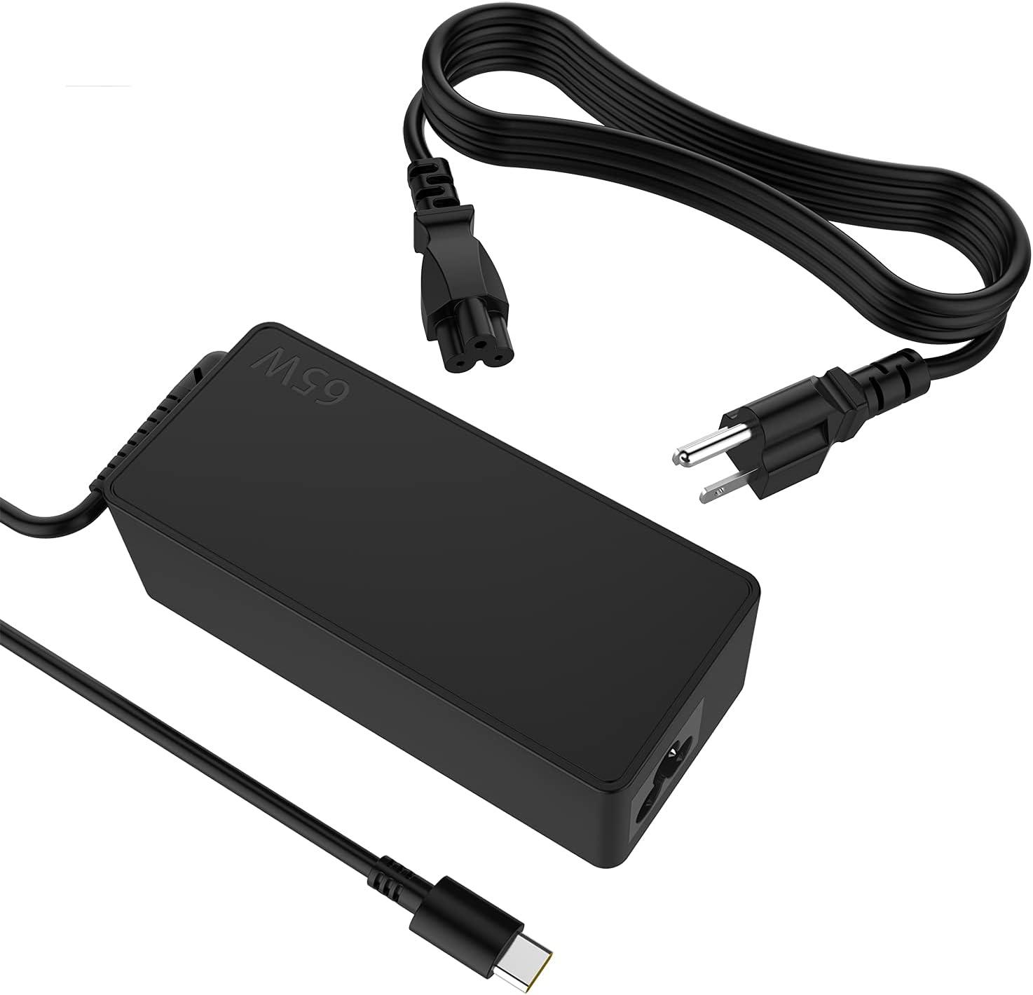 65W USB C Laptop Charger Type C Power Supply Adapter for HP Chromebook 14 13 X360 G5 14-ca051wm 14-ca061dx 14-ca020nr 14-ca060nr 14-ca043cl 14-ca052wm 11 11A G6 G7 G8 EE Spectre EliteBook by Kepmem