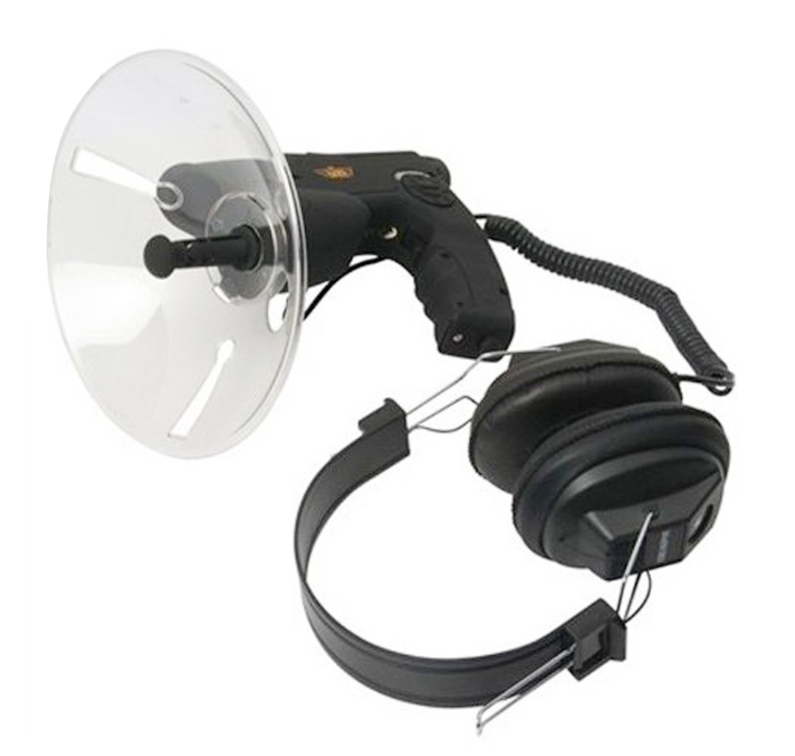 CampCo Uzi Uzi-OD-1 Observation Listening Device with 300-Foot Range and Noise Reduction Black