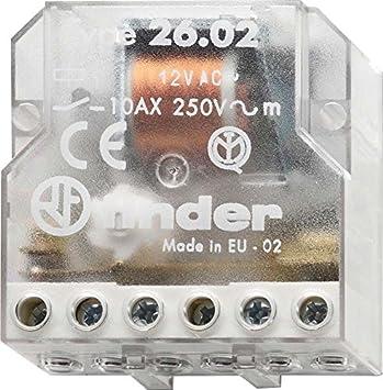 Finder 260882300000PAS - Interruptor de control remoto caja de persiana 2 NA 230 VCA 10 A 4 secuencias: Amazon.es: Bricolaje y herramientas